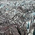 Detail Of Icelandic Glacier by Arthur Meyerson