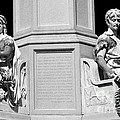 Detail Of Monument Statues - Bw by Paul W Faust -  Impressions of Light