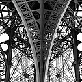 Detail Of The Legs Of The Eiffel Tower by Ogphoto