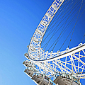 Detail Of The London Eye by Adina Tovy