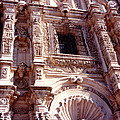 Detail Of The National Cathedral Of Guatemala by Glenn Aker