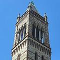 Detail Old South Church Boston by Georgia Hamlin