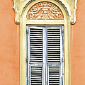Detailed Window Of Rome by David Letts