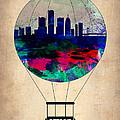 Detroit Air Balloon by Naxart Studio
