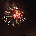 Detroit Area Fireworks -1 by Paul Cannon