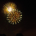 Detroit Area Fireworks -3 by Paul Cannon