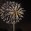 Detroit Area Fireworks -4 by Paul Cannon