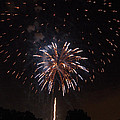Detroit Area Fireworks -5 by Paul Cannon