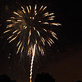 Detroit Area Fireworks -6 by Paul Cannon