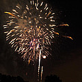 Detroit Area Fireworks -7 by Paul Cannon