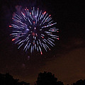 Detroit Area Fireworks -9 by Paul Cannon