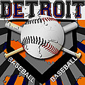 Detroit Baseball  by David G Paul