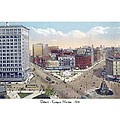 Detroit - Campus Martius - Soldiers And Sailors Monument - 1914 by John Madison