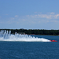 Detroit Hydroplane Races by Michael Rucker