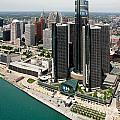 Detroit International Riverfront by Bill Cobb