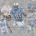 Detroit Lions Team by Joe Hamilton