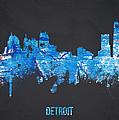 Detroit Michigan Usa by Aged Pixel