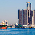Detroit Renaissance Center by James Marvin Phelps