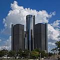 Detroit Renaissance Center by Gej Jones