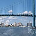 Detroit River Crossing by Ann Horn