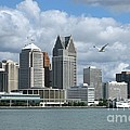 Detroit Riverfront by Ann Horn