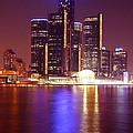 Detroit Skyline 5 by Gordon Dean II