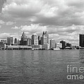 Detroit Skyline by Ann Horn