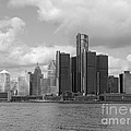 Detroit Skyscape by Ann Horn