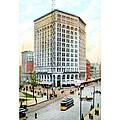 Detroit - The Majestic Building - Woodward Avenue - 1900 by John Madison