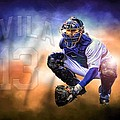 Detroit Tiger Alex Avila by A And N Art