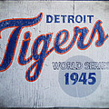 Detroit Tigers Wold Series 1945 Sign by Bill Cannon