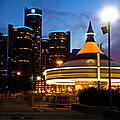 Detroit Waterfront Park by Rexford L Powell