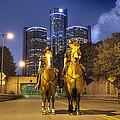 Detroit's Finest Detroit Mi by A And N Art