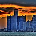 Detroits Sky by Nicholas  Grunas