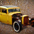 Deuce Coupe On Rust  by Steve McKinzie