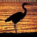 Deuteronomy 28 Verse 13 by Leticia Latocki