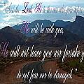 Deuteronomy 31 Verse 8 by Leticia Latocki