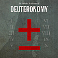 Deuteronomy Books Of The Bible Series Old Testament Minimal Poster Art Number 5 by Design Turnpike