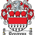Devereux Coat Of Arms Wexford Ireland by Heraldry