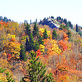Devil's Courthouse In The Fall by Duane McCullough