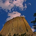 Devils Tower As A Volcano by John Malone