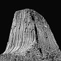 109851-bw-devil's Tower 2  by Ed  Cooper Photography