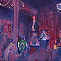 Dewey Paul Band At The Goat Nye by David Sockrider