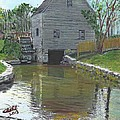 Dexter's Grist Mill - Cape Cod by Cliff Wilson
