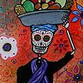 Dia De Los Muertos Fruit Vendor by Pristine Cartera Turkus