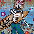 Dia De Los Muertos Surfer by Pristine Cartera Turkus