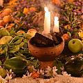 Dia Del Muerte Altar by Betsy Snider
