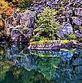 Diablo Lake Reflection by Benjamin Yeager