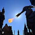 Diagon Alley Dragon Fire by David Lee Thompson