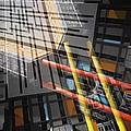 Diagonal Mondrian by Wayne Sherriff